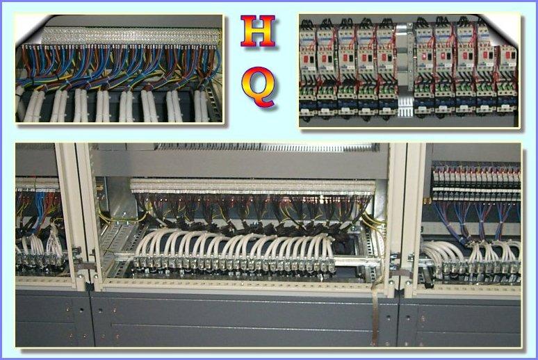Schema Di Cablaggio Plc : Quadri elettrici